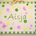 Baby Name Canvas