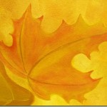how to paint fall leaf