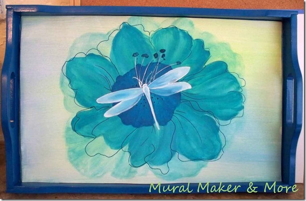 Gift Ideas For Mom Poppy Amp Dragonfly Tray Just Paint