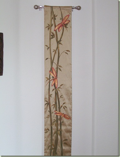 Painted Silk Wall Hanging Just Paint It Blog