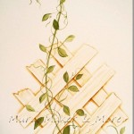 How to Paint Trellis without a Stencil