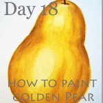 How to Paint Golden Pear