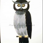 Paint a Simple Owl