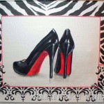 Louboutin Heels Painting