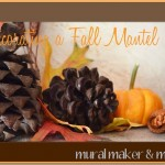 Fall Mantel Decor