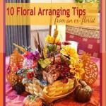 10 Tips Floral Arranging