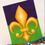 Paint 3D Fleur de Lis