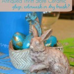 How to antique ceramic