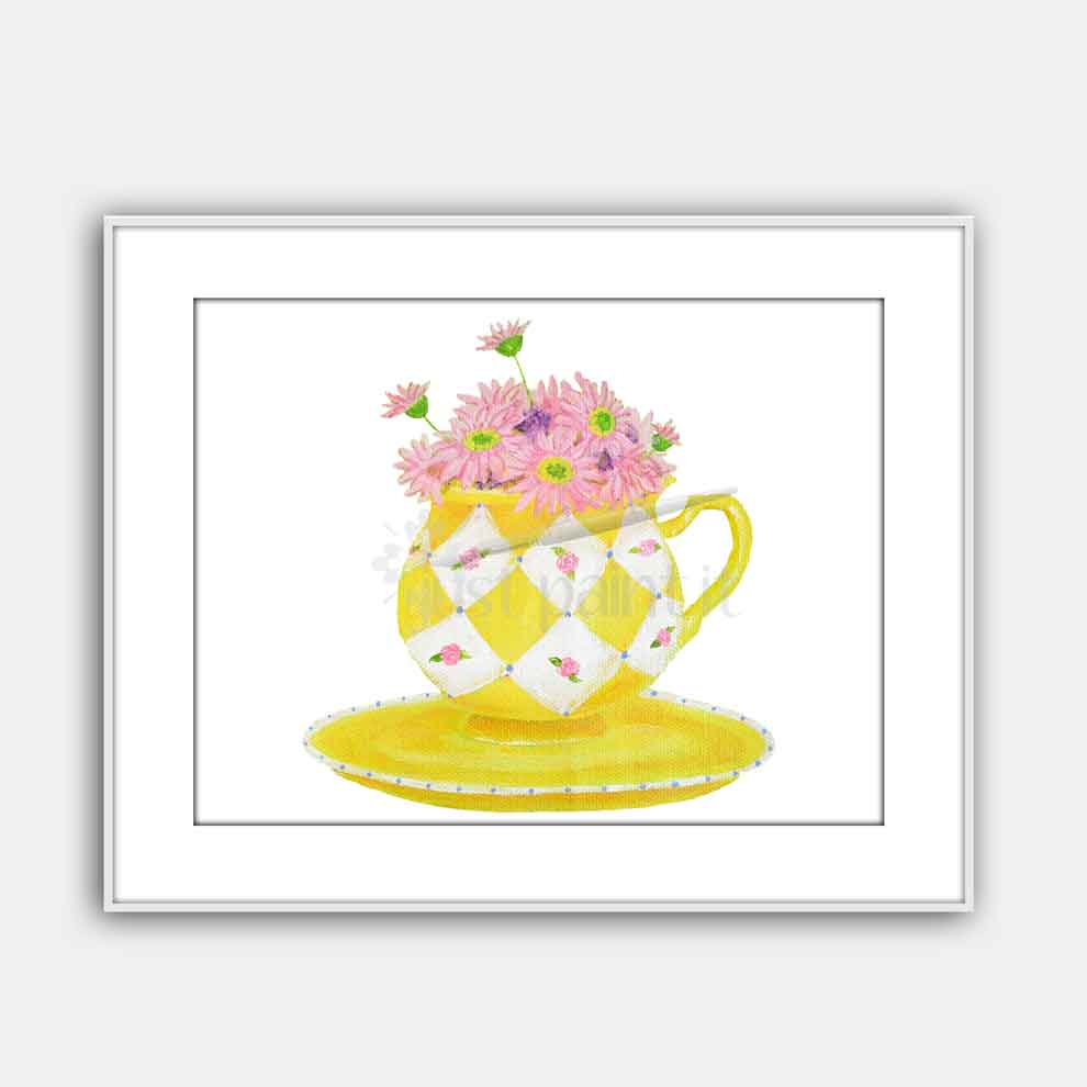 daisies-in-teacup-art-print