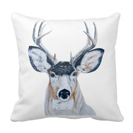 deer-head-pillow
