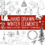 winter-doodles