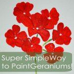 paint-geraniums